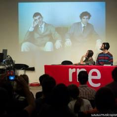 Estreno EE.XX. en RNE3 junto a Marcos Mesa y Julio Ródenas. - Fotógrafo: Rodrigo Mena Ruiz